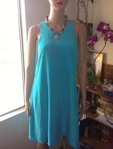 Beautiful 100% silk swing dress